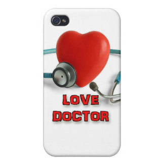 Doctor del amor iPhone 4 protector