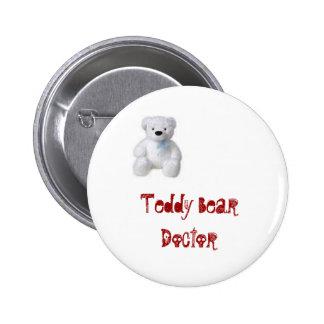 Doctor del oso de peluche pin