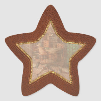 Doctor - Desk - The physician's office Star Sticker