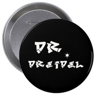 DOCTOR DREIDEL -.png Pinback Button