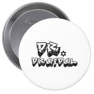 DOCTOR DREIDEL -.png Pinback Buttons