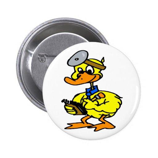 Doctor Duck Pins