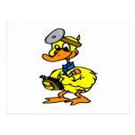 Doctor Duck Postcard