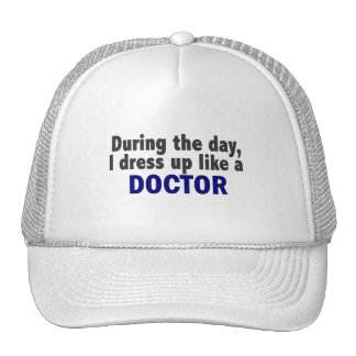 Doctor During The Day Hats
