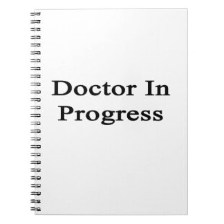 Doctor en curso cuaderno