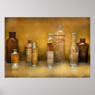 Doctor - esencias del aceite impresiones