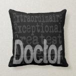 Doctor Extraordinaire Pillow
