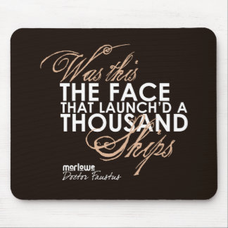 Doctor Faustus Quote Mouse Pad