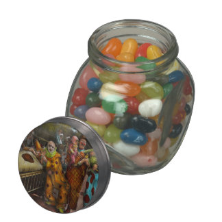 Doctor - Fear of clowns 1923 Glass Candy Jars