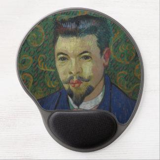 Doctor Felix Rey by Vincent Van Gogh Gel Mouse Pad