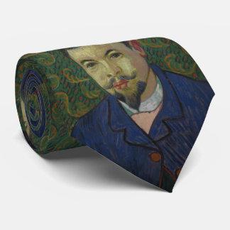 Doctor Felix Rey by Vincent Van Gogh Neck Tie