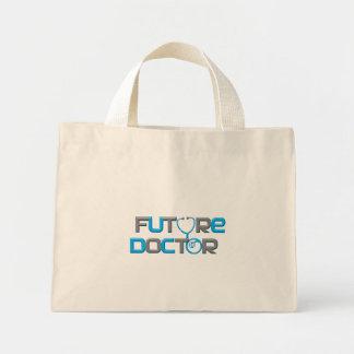 Doctor futuro bolsa de tela pequeña
