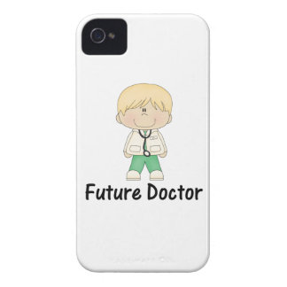 doctor futuro (muchacho) Case-Mate iPhone 4 protectores