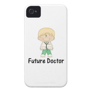 doctor futuro (muchacho) iPhone 4 Case-Mate carcasa