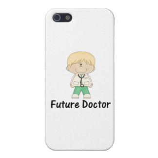 doctor futuro (muchacho) iPhone 5 funda