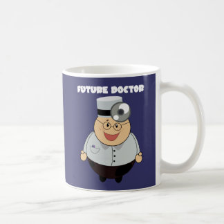 Doctor futuro personalizado taza