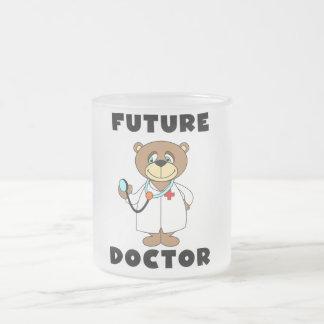 Doctor futuro Tshirts y regalos del oso Taza
