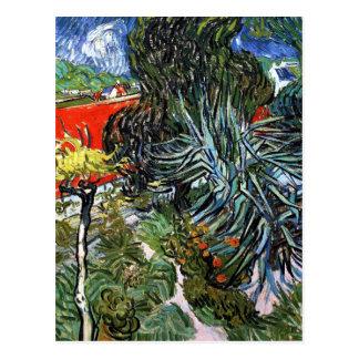 Doctor Gachet's Garden in Auvers Postcard
