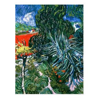 Doctor Gachet's Garden, Vincent van Gogh Post Card