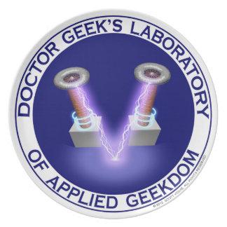 Doctor Geek's Laboratory Plate