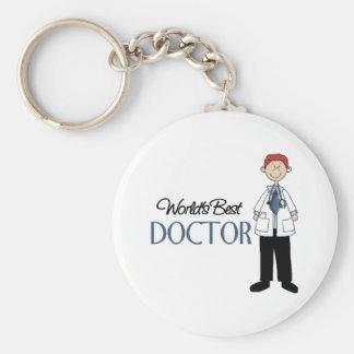 Doctor Gift Basic Round Button Keychain