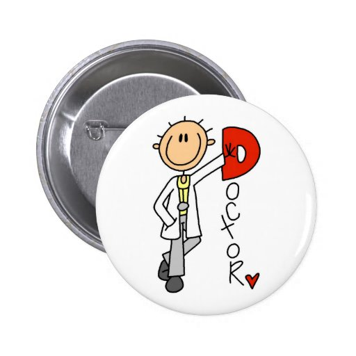 Doctor Gift Pinback Buttons