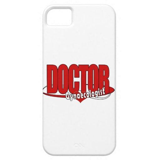DOCTOR ginecólogo del LOGOTIPO iPhone 5 Carcasas