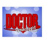 DOCTOR ginecólogo del LOGOTIPO Tarjetas Postales