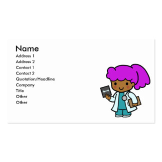 Doctor Girl Business Cards