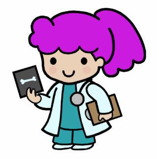 Doctor Girl Cutout