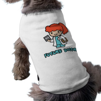 Doctor (girl) doggie t shirt