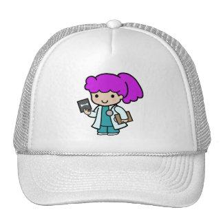 Doctor Girl Mesh Hats