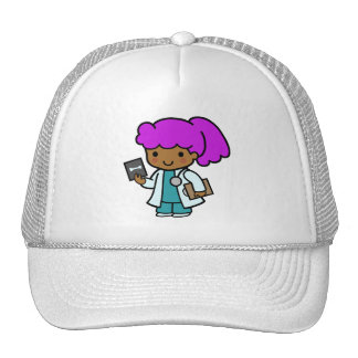 Doctor Girl Mesh Hat