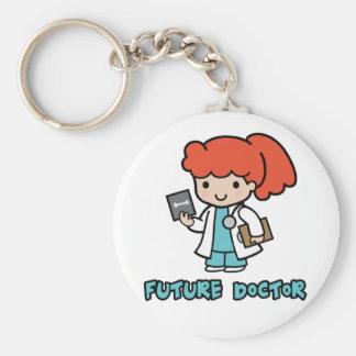 Doctor (girl) keychain