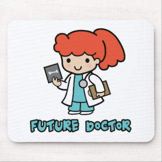 Doctor (girl) mouse pad