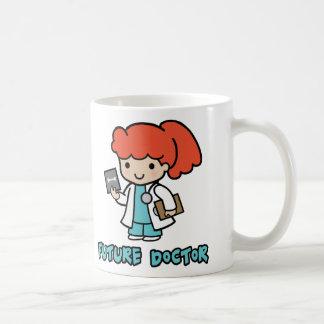 Doctor (girl) coffee mugs