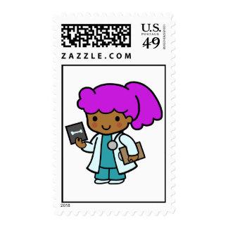 Doctor Girl Stamp