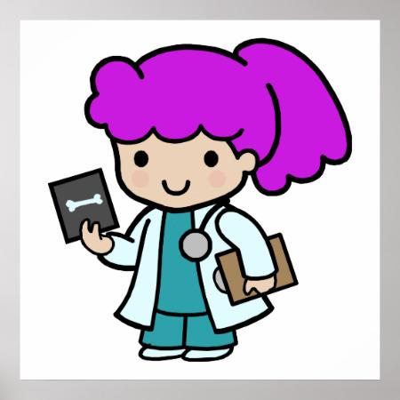 Doctor Girl Poster