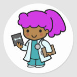 Doctor Girl Sticker