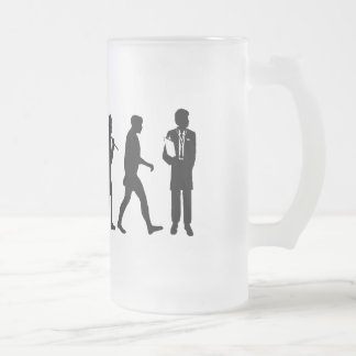 Doctor GP anaesthetist gynaecologist surgeon Frosted Glass Beer Mug