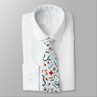 Doctor Holidays Tie
