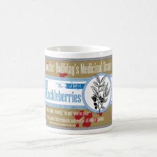 Doctor Holliday's Medicinal Brand Huckleberries Classic White Coffee Mug