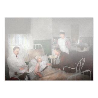 Doctor - Hospital - Bedside manner 1915 Card