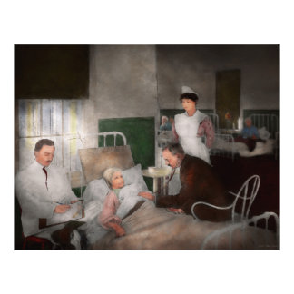 Doctor - Hospital - Bedside manner 1915 Flyer