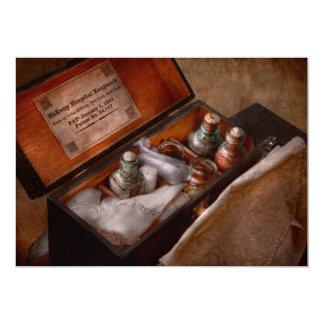 Doctor - Hospital knapsack Card