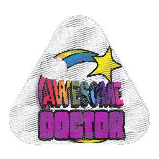 Doctor impresionante del arco iris de la estrella altavoz