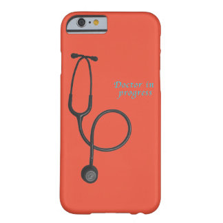 Doctor in progress barely there iPhone 6 case