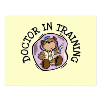 Doctor in Training T-shirts and Gifts Postcard