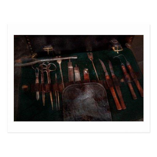 Doctor - instrumentos de la guerra civil postales