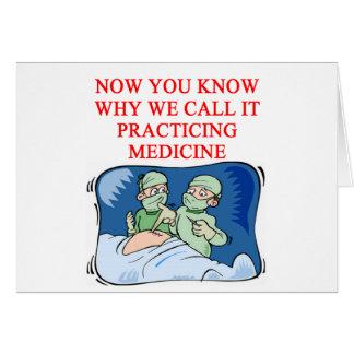 DOCTOR joke Cards